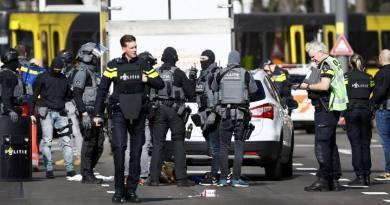 नीदरलैंड के उट्रेक्ट शहर में गोलीबारी
