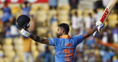 टीम इंडिया के कप्तान विराट कोहली ने अंतर्राष्ट्रीय वनडे क्रिकेट में 40 शतक पूरा कर लिया।