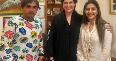 मशहूर हरियाणवी डांसर सपना चौधरी ने कांग्रेस पार्टी में शामिल होने से इनकार किया है।