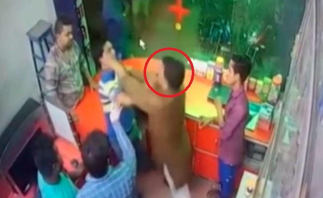 बीजेपी नेता के भाई की दबंगई का वीडियो वायरल