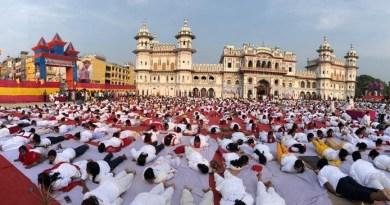 पूरा देश आज अंतरराष्ट्रीय योग दिवस मना रहा है। पूरब से लेकर पश्चिम तक, उत्तर से लेकर दक्षिण तक में लोगों को योग के प्रति भारी उत्साह है।