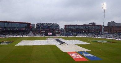 भारत और न्यूजीलैंड के बीच मैच रद्द
