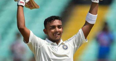 इंडियन क्रिकेटर पृथ्वी शॉ को बीसीआई ने 8 महीने के लिए निलंबित कर दिया है। उनके खिलाफ ये कार्रवाई डोपिंग रोधी नियम के उल्लंघन के चलते की गई।