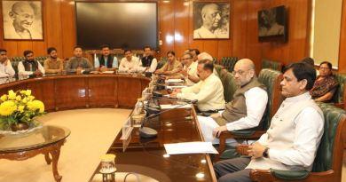 कश्मीर के विकास को लेकर मंगलवार को गृहमंत्री ने एक बड़ी बैठक की।