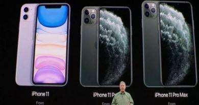 मोबाइल की दुनिया के सबसे पॉपुलर ब्रांड ऐप्पल ने तीन नये मोबाइल लॉन्च कि हैं।