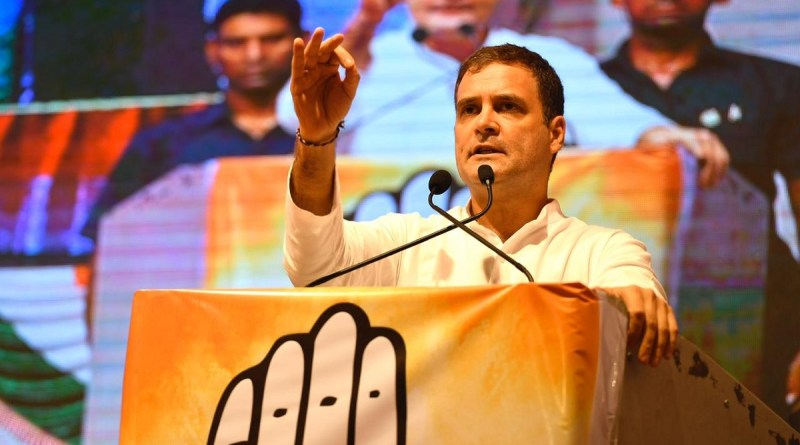 राहुल गांधी ने महाराष्ट्र में तीन रैलियों को किया संबोधित