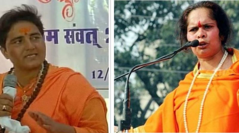 बीजेपी की भोपाल से सांसद साध्वी प्रज्ञा ठाकुर के गोडसे पर दिए बयान को लेकर जमकर राजनीति हो रही है।