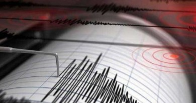 उत्तराखंड की धरती एक बार फिर भूकंप के झटकों से डोल उठी है। चमोली जिले में रात 8.39 बजे भूकंप के झटके महसूस किए गए।