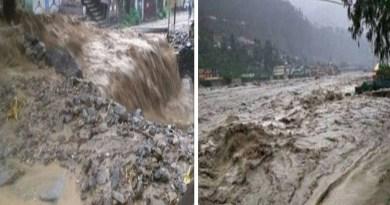 उत्तराखंड में पिछले कुछ दिनों से आसमान से आफत की बारिश हो रही है। भारी बारिश और बादल फटने से पहाड़ी जिलों में तबाही का मंजर देखा गया है।