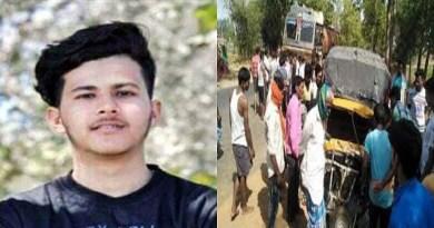 उत्तराखंड के जजफार्म में सड़क हादसे से कोहराम मच गया है। 12वीं क्लास में पढ़ने वाले भावेश नाम के छात्र की मौत हो गई है। भावेश अपने मां-बाप का एकलौते बेटा था।