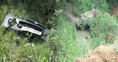 पिथौरागढ़: 300 मीटर गहरी खाई में गिरी अनियंत्रित कार, ड्राइवर की मौके पर ही मौत