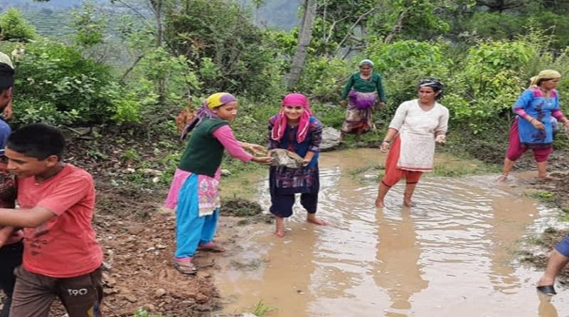उत्तरकाशी के डुंडा ब्लॉक के पटारा गांव की महिलाओं ने पूरे जिले का नाम रोशन किया है। जल संरक्षण के क्षेत्र में शानदार काम करने के लिए महिलाओं को सम्मानित किया गया है।