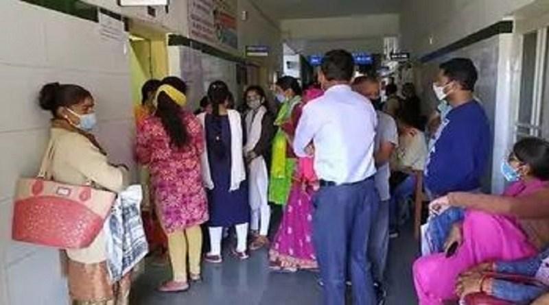 अल्मोड़ा: जिला अस्पताल में भर्ती मरीज निकला कोरोना पॉजिटिव, मचा हड़कंप