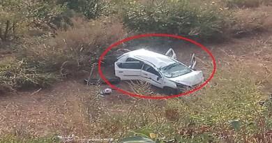 अल्मोड़ा में भीषण सड़क हदास हुआ है। गहरी खाई में कार गिरने से एक बुजुर्ग महिला की मौत हो गई और तीन लोग घायल हो गए।