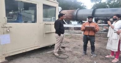 चमोली के कोठियालसैंण-नंदप्रयाग मोटर मार्ग पर अवैध रूप से चल रहे हॉट मिक्स प्लांट को प्रशासन ने सील कर दिया है।