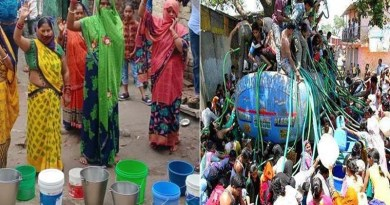 रुद्रप्रयाग: पानी के संकट को लेकर उपवास पर बैठे मोहित डिमरी, ग्रामीणों का मिला साथ