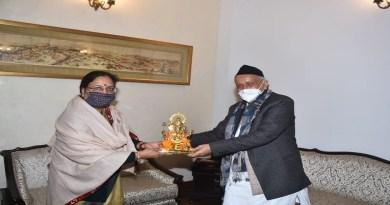 उत्तराखंड की राज्यपाल बेबी रानी मौर्य कोरोना पॉजिटिव पाई गई हैं। उन्होंने खुद ट्वीट कर इस संबंध में जानकार दी है।
