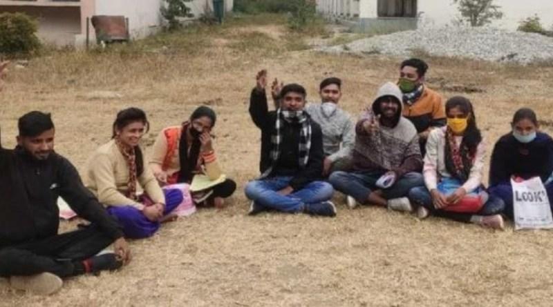 बागेश्वर जिले में बागेश्वर डिग्री कॉलेज की नई बिल्डिंग में बनाए जा रहे कोविड केयर सेंटर विरोध लगातार जारी है।