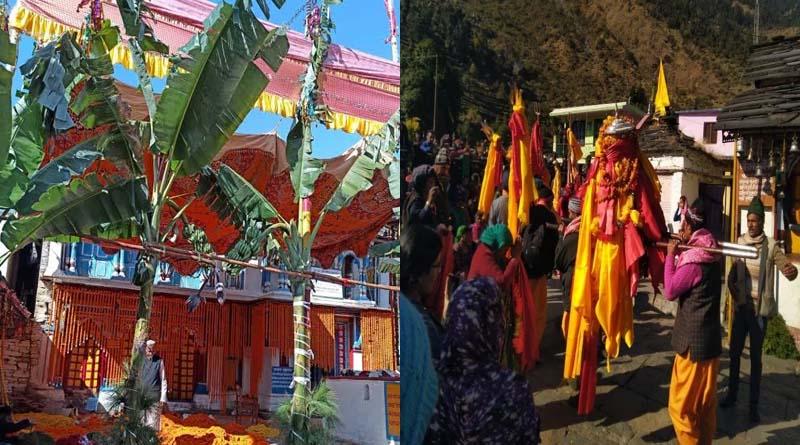 द्वितीय केदार मद्महेश्वर की डोली के आगमन को लेकर सजा ओंकारेश्वर मंदिर, यहां पंच केदारों के कर सकेंगे दर्शन