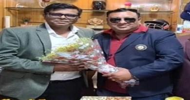 क्रिकेट एसोसिएशन ऑफ उत्तराखंड के प्रदेश सचिव ने किया चंपावत का दौरा, किए ये वादे