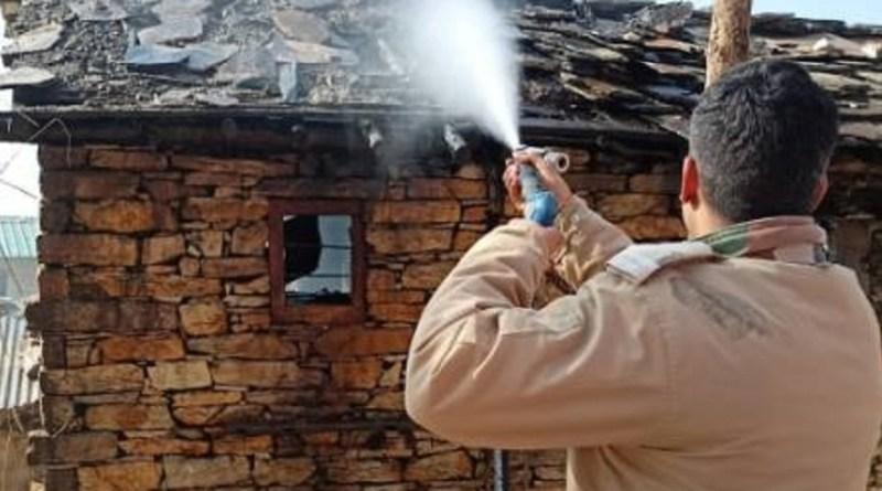 बागेश्वर में खाना बनाते समय एक घर में लगी भयानक आग, मचा हड़कंप