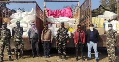 ट्रकों से छुपाकर नेपाल भेजा रहा था सामान, शक होने पर रोका, फिर जो देखा वो हैरान करने वाला था
