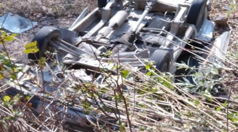 उत्तरकाशी से दुखद खबर है। गंगोत्री हाईवे पर सैंज गांव के पास एक कार बेकाबू होकर खेत में जाकर पलट गई।