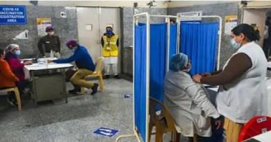कोरोना वैक्सीनेशन: अल्मोड़ा में 102 स्वास्थ्य कर्मियों ने लगाया टीका