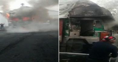 हरिद्वार: लक्सर शुगर मिल के अंदर खोई से भरे ट्रक में आग लगने से मची अफरा-तफरी, आग पर काबू पाने में छूटे दमकल कर्मियों के पसीने