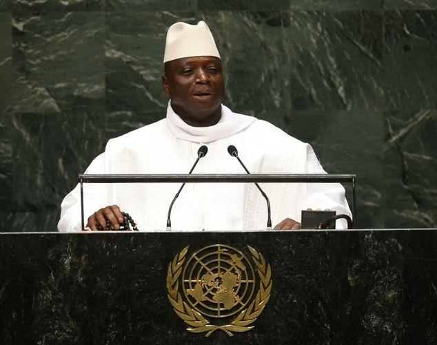 GAMBIAN PRESIDENT