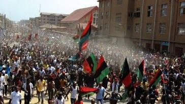 protest biafra
