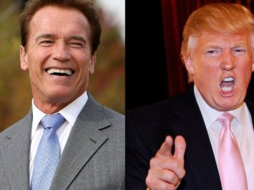 donald trump and arnold