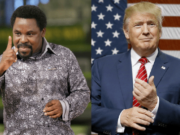 tb joshua and donald trump