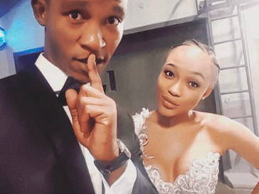 Thando Thabethe and Katlego Maboe