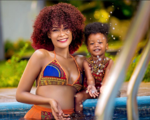 Hamisa Mobetto And Her Daughter