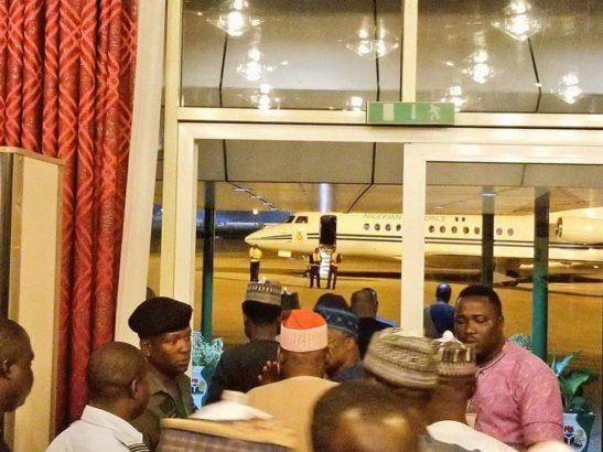 PDP, Buhari, London, Photos, Visit