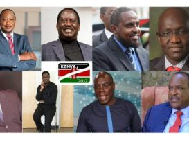 These Are The Eight Candidates For Kenya's 2017 Presidential Elections [Photos]