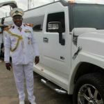 Flamboyant Nigerian Pastor, Tom Samson Goes To Church In Military Uniform [See Photos]