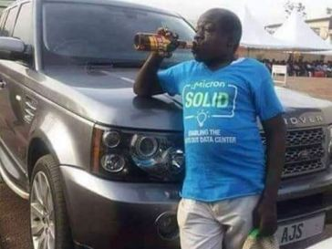 """""""Alcohol Doesn't Stop Me From Being A Born Again Christian"""" - Ugandan Comedian Kapere"""