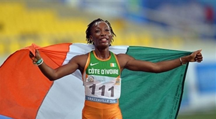 Ivory Coast Praises Marie-Josee Ta Lou For Winning Silver Medal At The IAAF World Championships Final