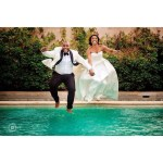 This Lovely Couple Jumped Into Swimming Pool Shortly After Their Wedding And It Is Jaw Dropping