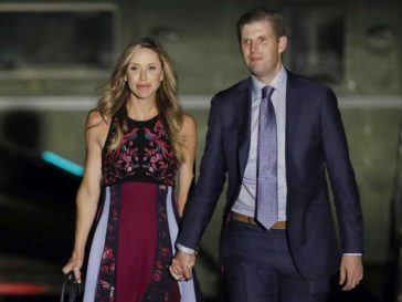 Eric Trump and wife