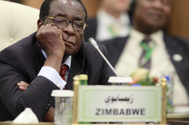 Zimbabwe President Mugabe Caught 'Sleeping' As Trump Addresses UN General Assembly [Photo]