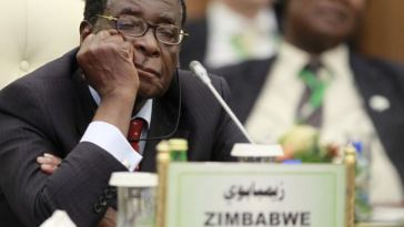 Zimbabwe President Mugabe Caught 'Sleeping' As Trump Addresses UN General Assembly [Photo]