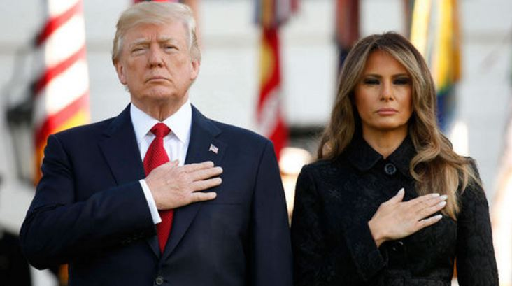 WATCH: Donald Trump And Wife, Melania Pay Tribute To Victims Of 9/11 Terror Attacks [VIDEO]