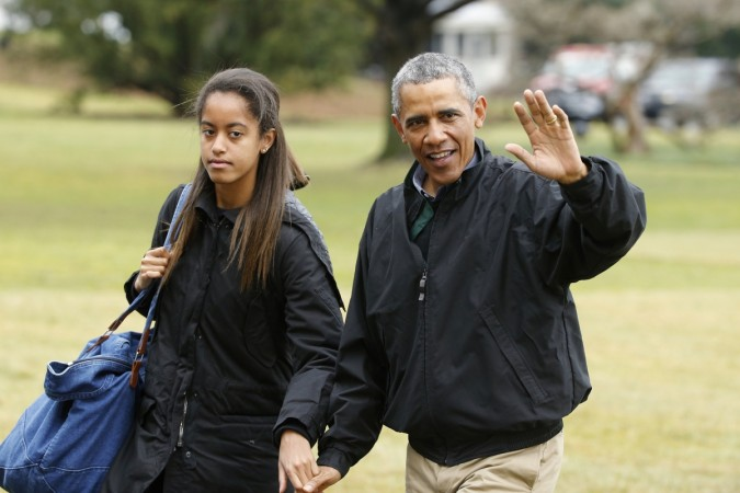 Barack Obama Cried When He Dropped Malia Off At Harvard