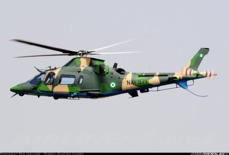 Video: Nigerian Army Aircraft Hovers Around Nnamdi Kanu's Residence