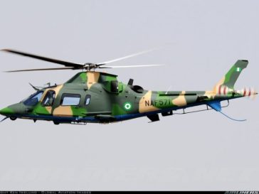 Video: Nigerian Army Aircraft Hovers Around Nnamdi Kanu's Residence