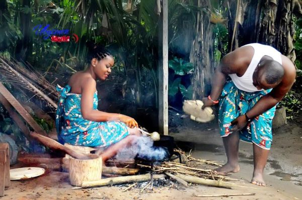 This Beautiful Couple Take To The Village For Their Pre-Wedding Photoshoot