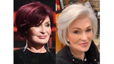Sharon Osbourne red hair